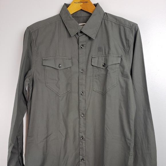 Men s G-Star Raw Large Shirt Rivetly dafb8dc25